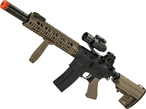 Evike CYMA Polymer Jungle Carbine M4 with RIS Handguard (Color: - Muzzle Ris