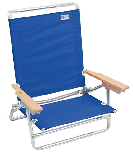 (Rio Beach Classic 5 Position Lay Flat Folding Beach Chair)