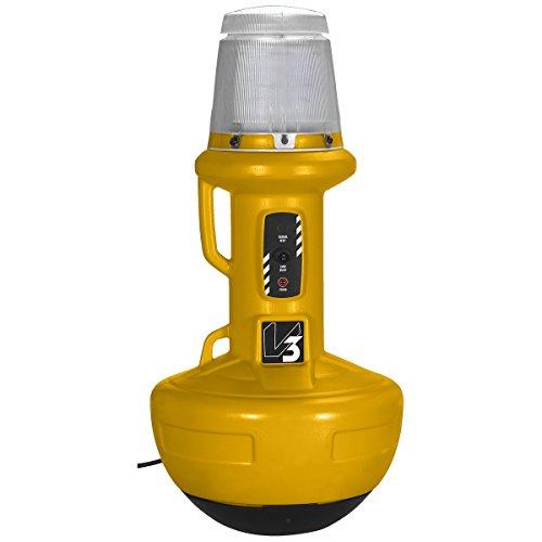 Wobble Light 111303LED Wobblelight V3 200W LED Work Light Patented Self-Righting, Yellow by Wobble Light (Image #1)