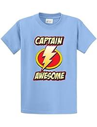 CAPTAIN AWESOME Printed Tee Shirt