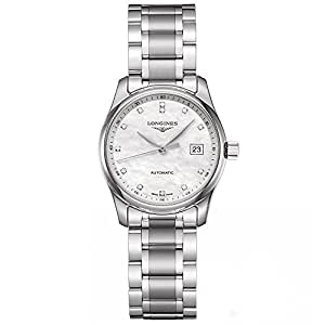 Longines Master Collection Automatic Mother of Pearl Dial Stainless Steel Ladies Watch L22574876