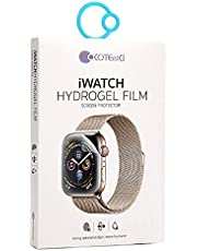 Coteetci iWatch Hydrogel Film (44mm) 9D Soft Screen Protector For Apple Watch Series 4/5/6/SE