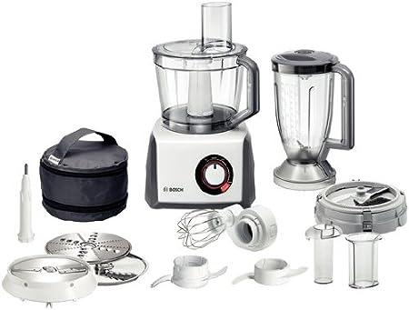 Bosch MCM68840 - Robot de cocina, 1250 W, capacidad de 3,9, color blanco: Amazon.es: Hogar