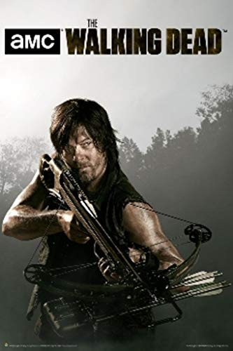 The Walking Dead Daryl Crossbow TV Show Cool Wall Decor Art Print Poster 24x36 ()