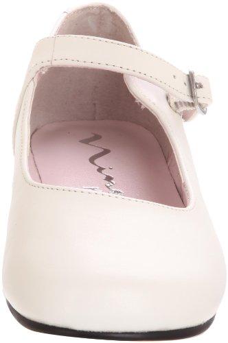 Nina Bonnett Mary Jane (Toddler/Little Kid) White Leather