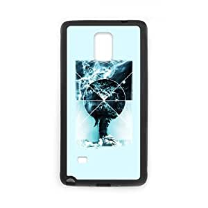 Samsung Galaxy Note 4 Phone Case Covers Black Atomic Space KMN Military Grade Cell Phone Cases