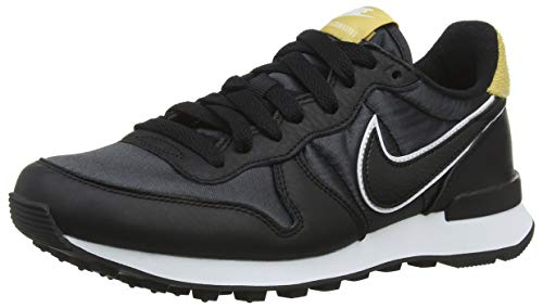 Gold de para Heat Mujer Internationalist 001 W Nike Black Negro Gimnasia Zapatillas Wheat Black 7qR11w