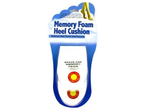 Memory foam heel cushion, Case of 72