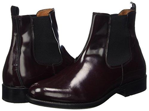 Bordeaux Boots Ten Femme Points Chelsea Diana CwwqHRX