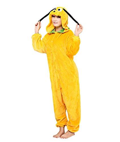 Goofy Pajama Costumes (Yimidear Unisex Adult Onesie Goofy Kigurumi Cosplay Costume Animal Pajamas Lounge Wear (L))