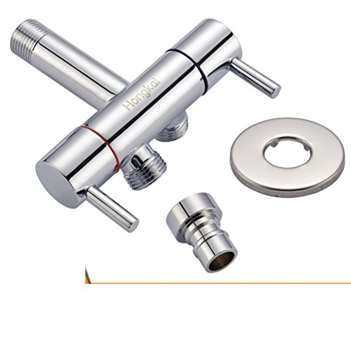A two out of three-wayone in and two out of three-way brass angle valve/Turbo Lance leader/ toilet flush mate/ bidet set-D hot sale