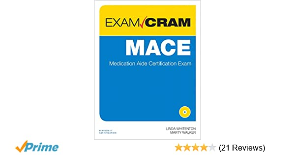 Mace exam cram medication aide certification exam 0029236749606 mace exam cram medication aide certification exam 0029236749606 medicine health science books amazon fandeluxe Gallery