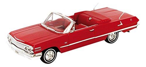 1/24 シボレー インパラ 1963(レッド) WE22434R