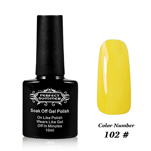 Perfect Summer Pro UV LED 10ml Gel Nail Polish Soak Off Nail