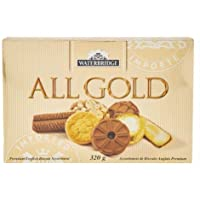 Waterbridge All Gold Premium English Biscuit Assortment 320g Imported Product of UK