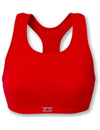 Amazon.com: Red - Sports Bras / Bras: Clothing, Shoes & Jewelry