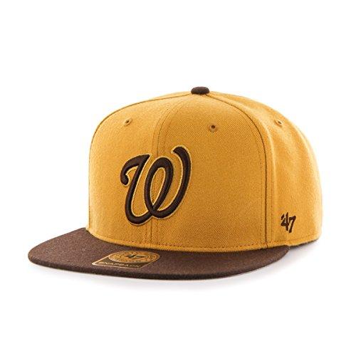 '47 MLB Washington Nationals No Shot Two Tone Captain Snapba