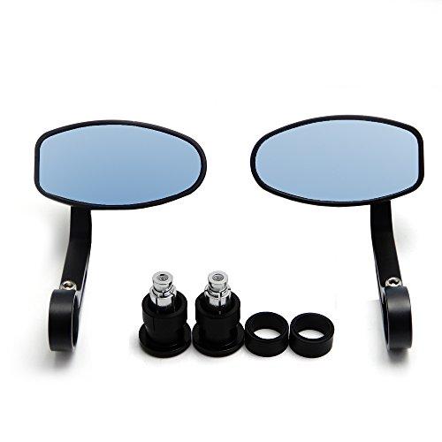Bar End Side Mirror - 8