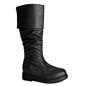 SharpSpirit Gothic Western Steampunk Medieval Cosplay Halloween Men's Boots