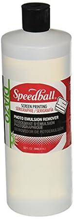 Speedball 4558 Diazo Photo Emulsion Remover, 32 oz. Capacity, Opaque