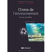 Chimie de l'environnement /2e essentiels en chimie