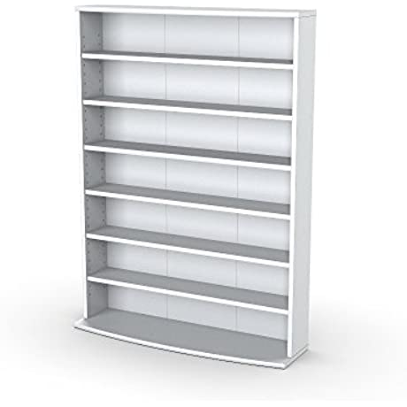 Sauder Multimedia Storage Tower White