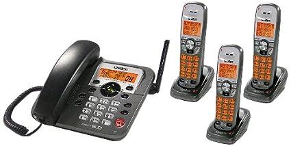 amazon com uniden dect1588 3t dect 6 0 corded cordless digital rh amazon com Uniden Answering Machine Manual Uniden Bearcat Scanner Manual