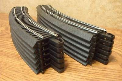 HO Scale Bachmann Steel Alloy EZ Track 12 Pieces of 18