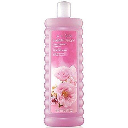 Avon Bubble Delight Cherry Blossom Bubble Bath 24 Oz.