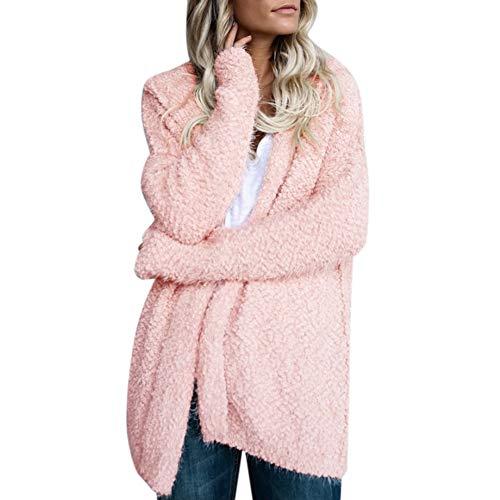 Capuche D'hiver S Mode Xl Cardigan Femmes Manteau Lanlan À Casual Sweat La Femme Pour Rose Khaki UT5pqC