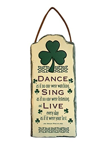 ate Look Plaque - St Patricks Day Blessing Spirit 09817-ABBEY (Patricks Day Plaque)