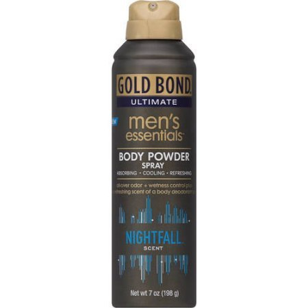 PACK OF 4 - Gold Bond Ultimate Men's Essentials Body Powder Spray, 7oz