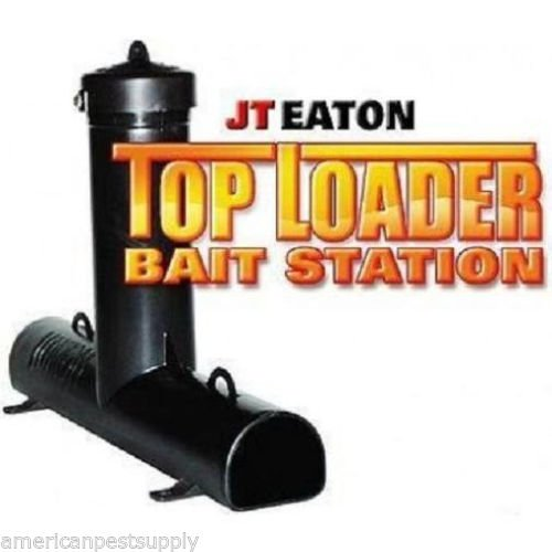 Rodent Bait Stations JT Eaton Top Loader (6 pak) Rat Mouse Mice Roof Rat Baiter by APS