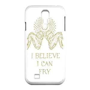 Samsung Galaxy S4 9500 Cell Phone Case White I BELIEVE I CAN FRY BNY_6958472