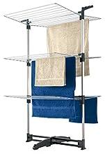 Metaltex CICLONE - Tendedero vertical con 3 alturas, 40 metros de tendido