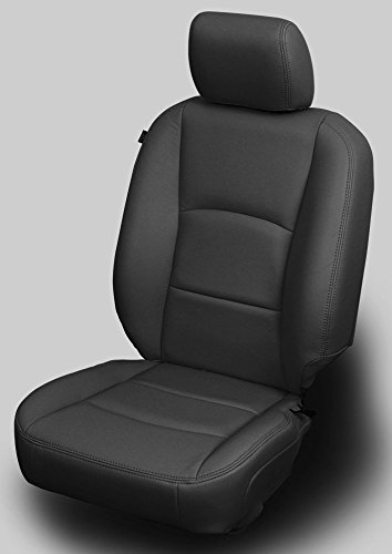 Katzkin 2013-2017 Dodge Ram 1500 2500 3500 Crew Cab Katzkin Leather Front Seats Only ()