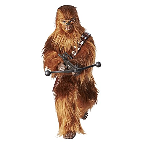 Star Wars Forces of Destiny Roaring Chewbacca Adventure Figure Toy - Sounds and Looks Just Like Real Chewy - Highly Poseable - Comes with Bandolier and Bowcaster - 12.5 inches Tall - Ages 4 and Up (Talking Action Pilot)