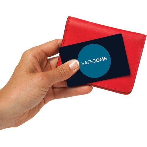 Safedome Classic - The Worlds Thinnest Bluetooth Tracking Card. Easily Find Your Lost Wallet, Bag, Backpack or Phone. Fits Perfectly in Your Wallet or Purse. by Safedome (Image #2)
