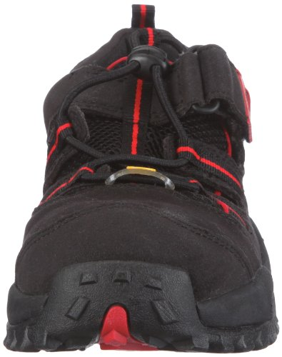 Sports rojo light de negro 7211 unisex Sandalias BAAK tela wO1Hwq