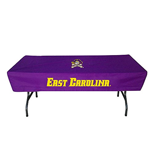 Rivalry Sports Team Logo Design Outdoor Travel Tailgating East Carolina 6 Foot Table Cover by Rivalry