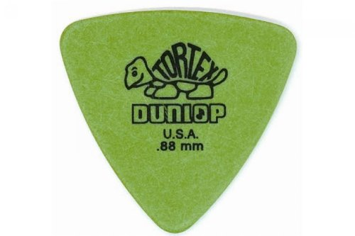 - Dunlop Tortex Triangle Guitar Picks 6 Pack .88Mm