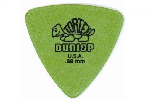 Dunlop Tortex Triangle Guitar Picks 6 Pack .88Mm