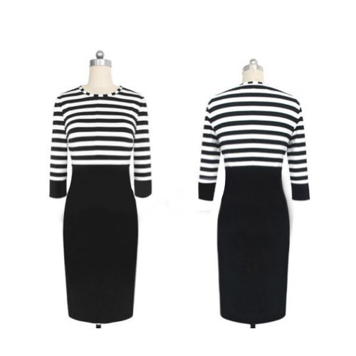 Janecrafts Striped Dress (XL) by Janecrafts (Image #1)