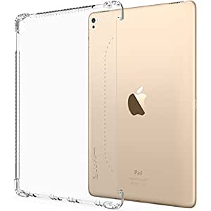 iPad Pro 9.7 Case, LUVVITT CLEAR GRIP Smart Cover and Keyboard Compatible Case for Apple iPad Pro 9.7 inch - Clear