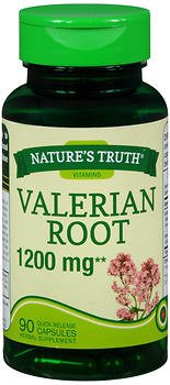 Nature's Truth Valerian Root 1200 mg Supplement, 90 Count