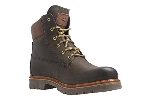 camel active Canberra GTX - Damen Gore-Tex Boots - Dunkelgrau Schuhe in Übergrößen