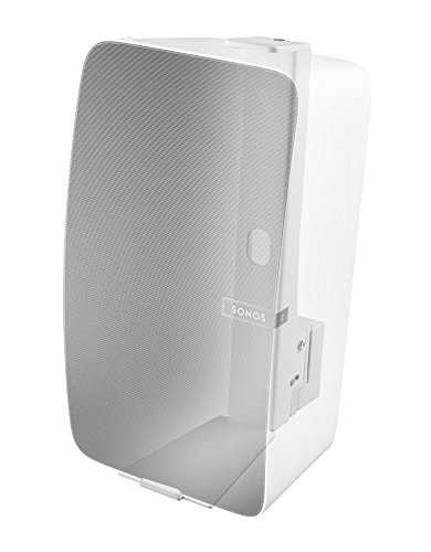 Cavus Wall Mount Sonos Play 5 - Wall Bracket Suitable for Sonos Play 5 Vertical mounting - CMP5VW - White (Bracket Mounting Speakers Accessories)