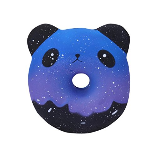 Livoty Mini Squishy Toys, Clearnce! Kawaii Squishies Squishy Animals Stress Toys Lovely Doughnut Cream Scented Squishy Slow Rising Squeeze Toys Collection (Galaxy Panda Donuts)