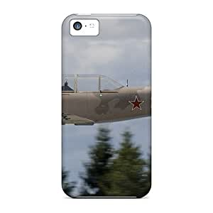 Durable Protector Case Cover With Russian Airplane Yak-52 Hot Design For Iphone 5c