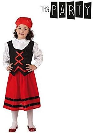 Atosa-32143 Disfraz Pastora Niña Infantil-T, Color Rojo, 3 a 4 ...